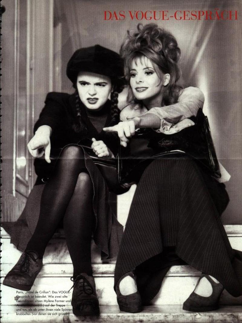 Vogue allemand (mars 1996) Mylene11