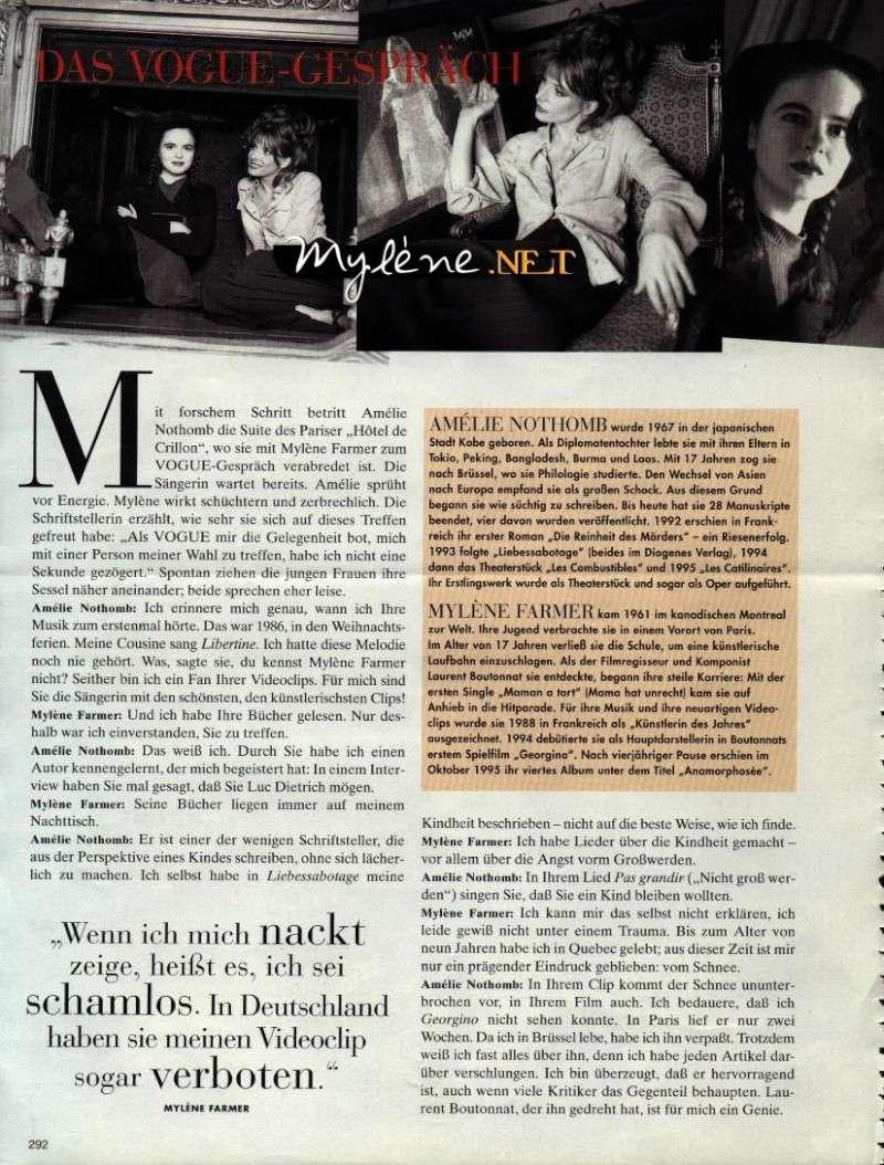 Vogue allemand (mars 1996) Mylene12
