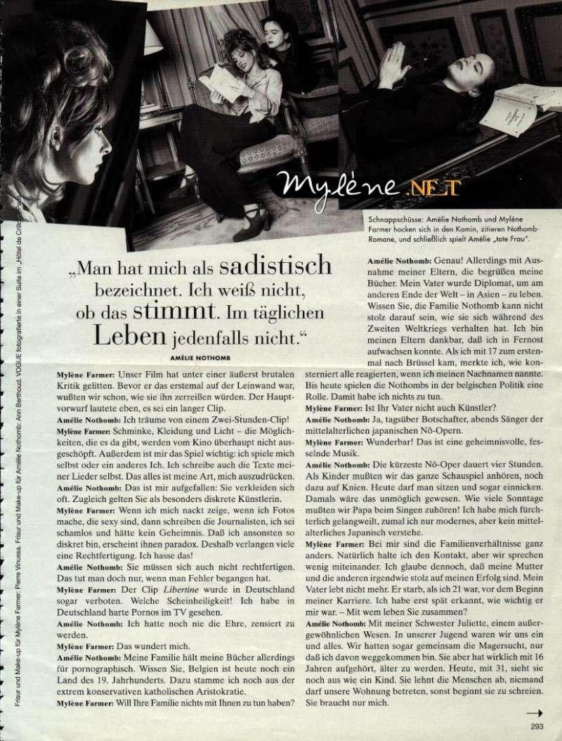 Vogue allemand (mars 1996) Mylene13