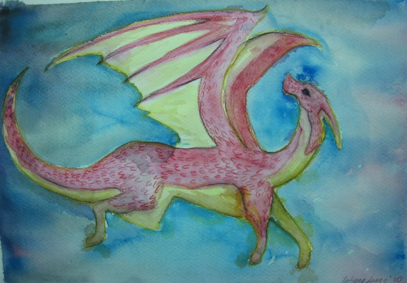 Dragon (1st Watercolour) Img_0712