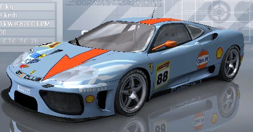 WIP Ferrari F 360 Modena Challenge  Gulf10