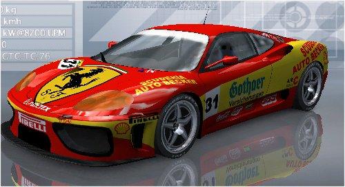 WIP Ferrari F 360 Modena Challenge  Scudau10