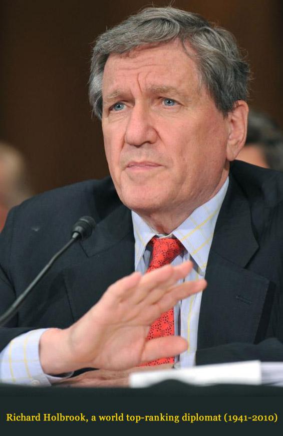 Richard Holbrooke (1941-2010) - American diplomat Richar11