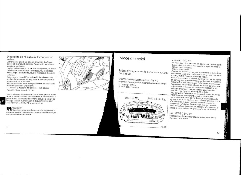 796 EN RODAGE !!! Questions - Page 2 Rodage12
