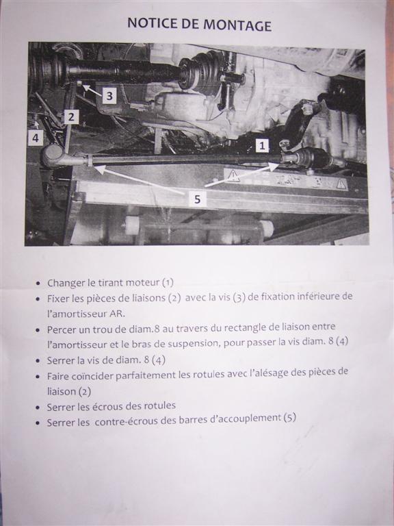 Montage Kit de Rigidification du TRAIN ARRIERE F16 100_2317