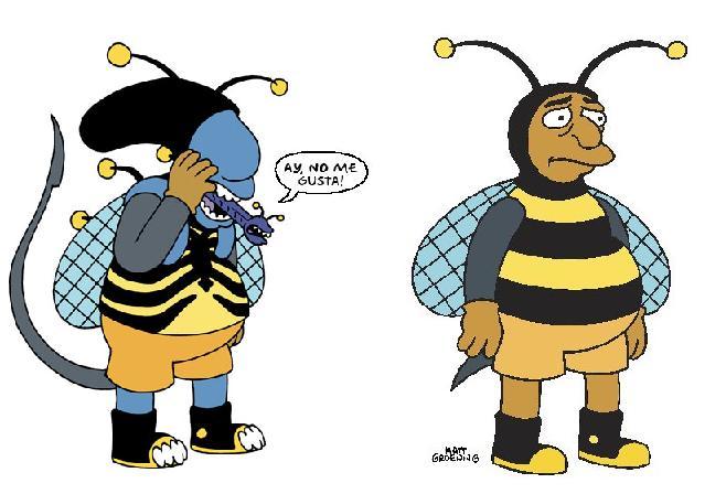 Galeria humoristica de Alien y Depredador Beeman10