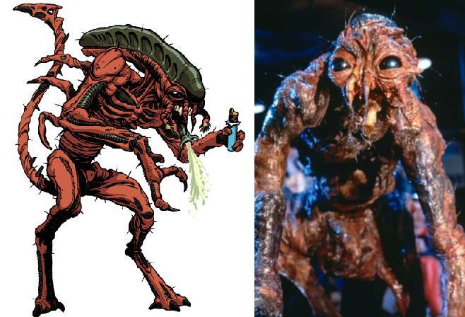 Galeria humoristica de Alien y Depredador Fly210