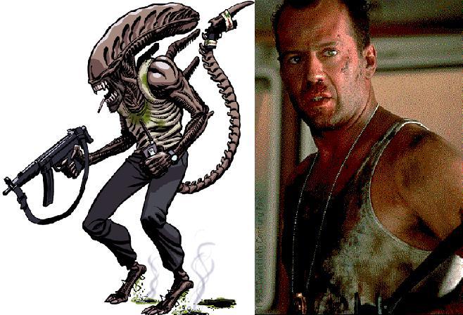 Galeria humoristica de Alien y Depredador Mc10