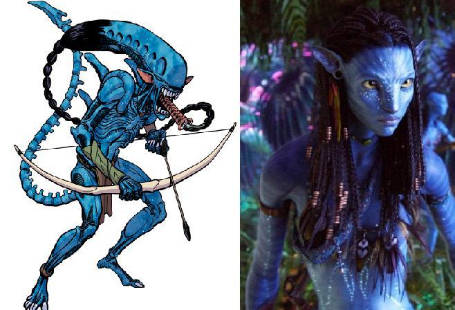 Galeria humoristica de Alien y Depredador Navi210