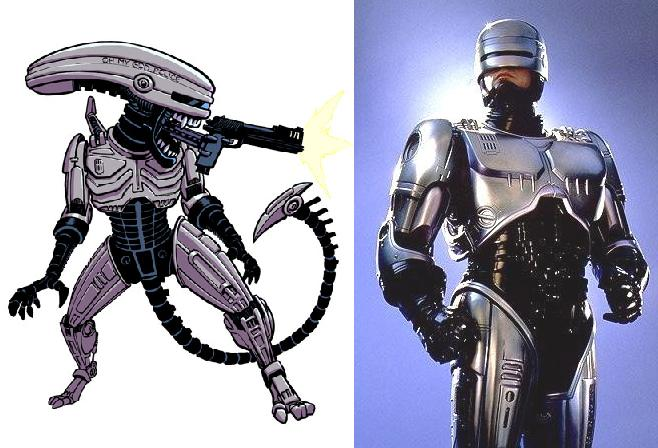 Galeria humoristica de Alien y Depredador Roboco10