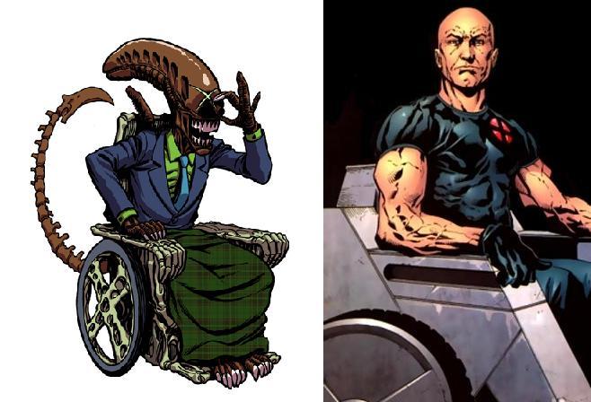 Galeria humoristica de Alien y Depredador Xavier10