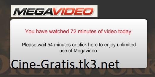 [Tutorial] Megavideo y límite de 72 minutos. Camo-e12