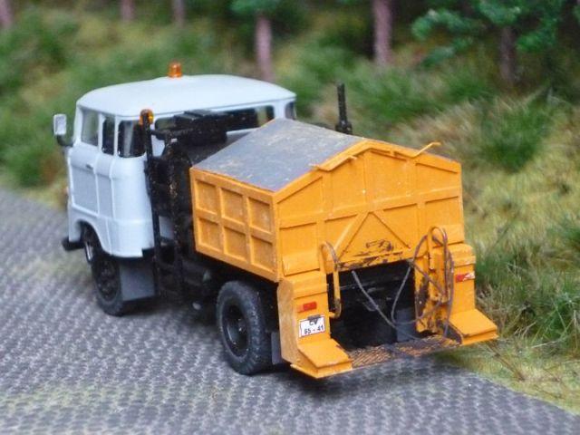 W50 Straßenunterhaltungsfahrzeug Fo-0210