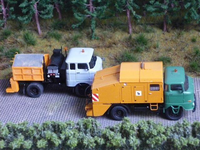 W50 Straßenunterhaltungsfahrzeug Fo-9710