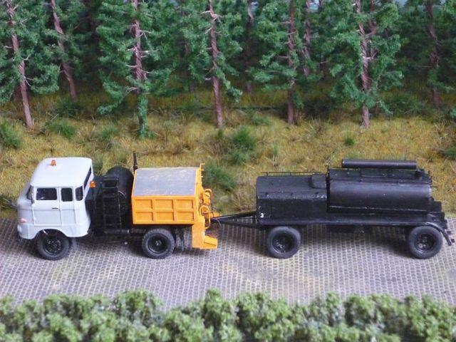 W50 Straßenunterhaltungsfahrzeug Fo-9810