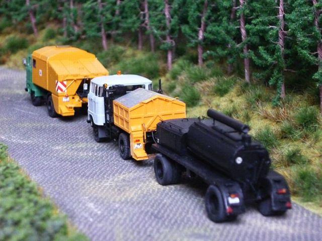 W50 Straßenunterhaltungsfahrzeug Fo-9910