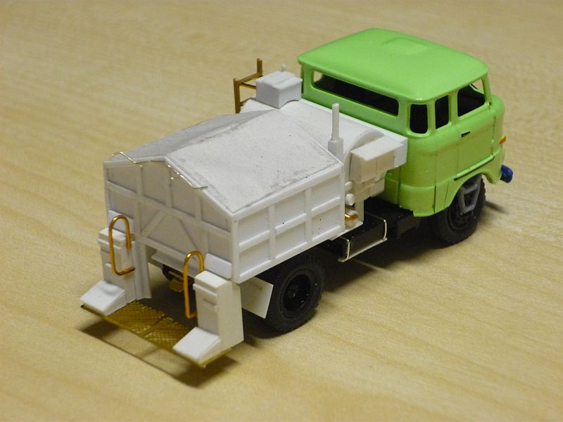 W50 Straßenunterhaltungsfahrzeug Fo-p1113