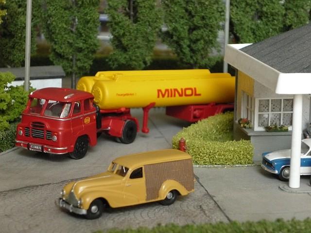 Minol Tankstelle T00110
