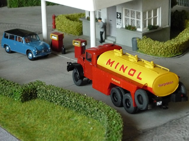 Minol Tankstelle T00710