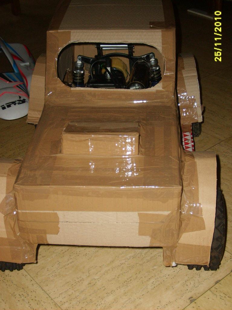 prototype de carosserie S5001218