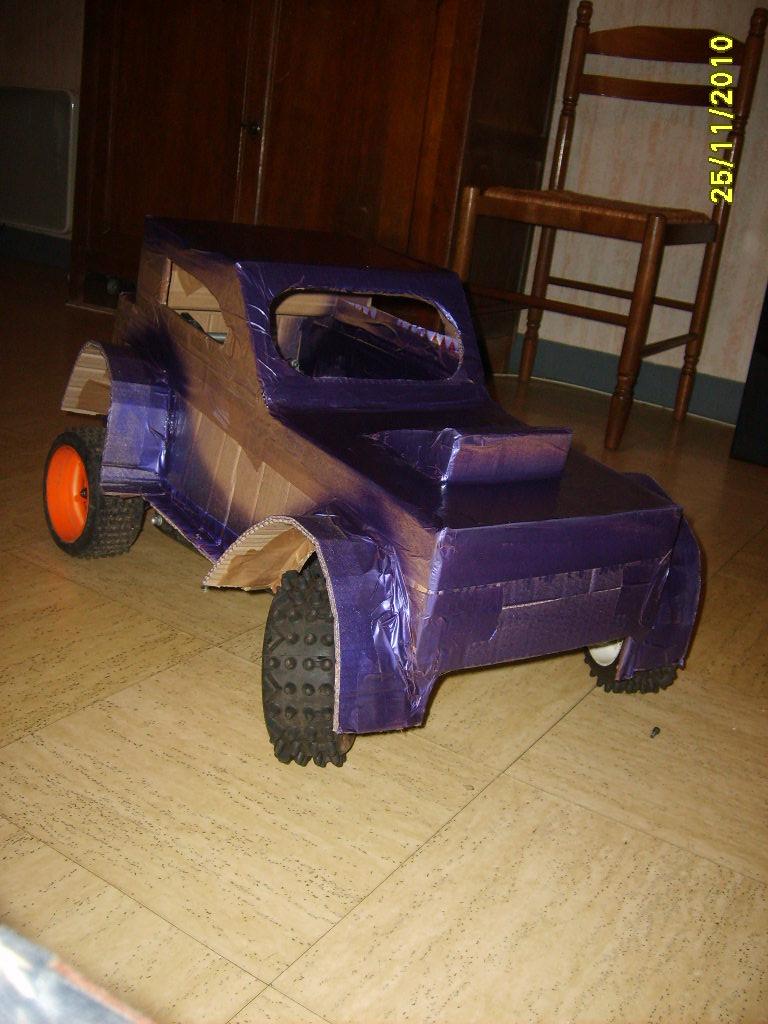 prototype de carosserie S5001221