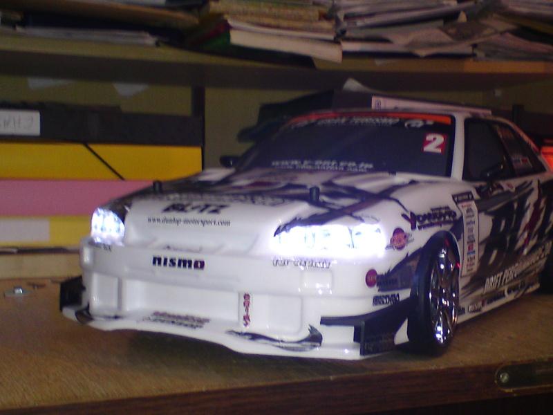 Yokomo drift pack plus type C Blitz ER34 Skyline Dsc00013