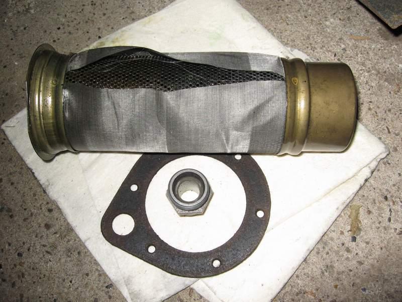 reservoir hydraulique 411 Filter10
