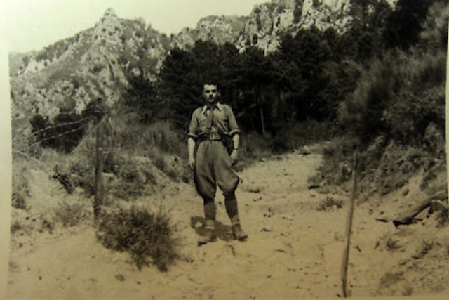 90e reggimento di fanteria  div cosséria verso mentone Menton10