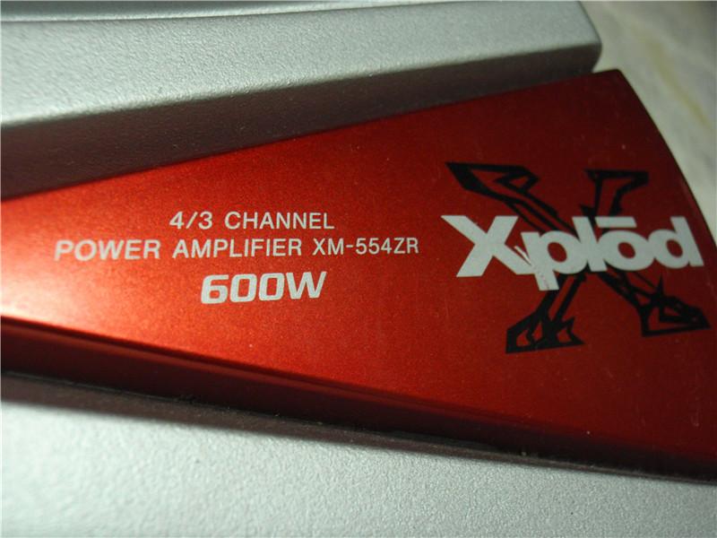 somy poweramp 4channel 600w P3290014