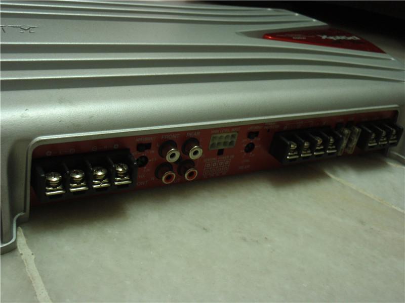 somy poweramp 4channel 600w P3290015