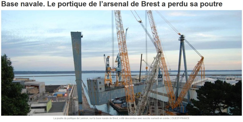 [Les ports militaires de métropole] Port de BREST - TOME 2 - Page 38 Captur12