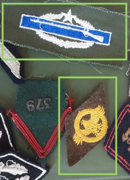 Identification insignes , pattes de col. 20210810