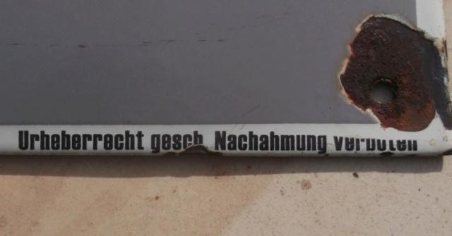 3 plaques emmaillé allemande ww2 pour identification Dscf8111