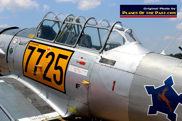 verriere avion inconnu T6-tex10