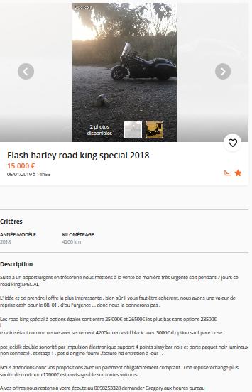 annonce sur le BC Touring 2018 Firefo19