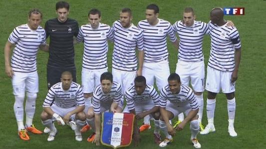 Nouveau maillot de l'équipe de France de foot / Passe-Partout France10