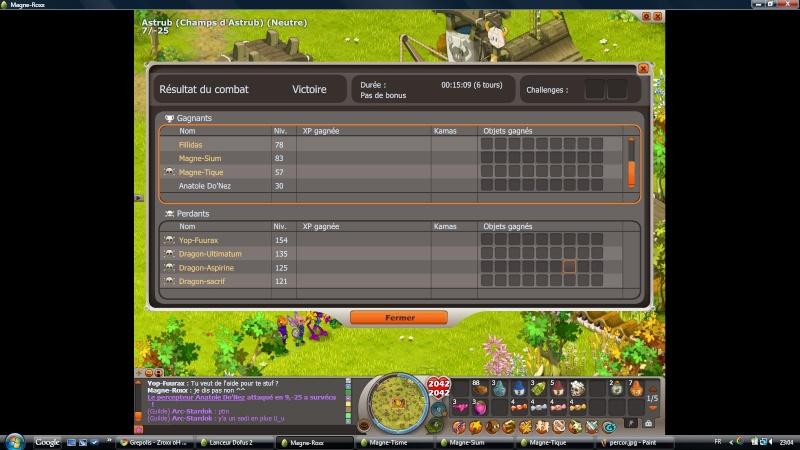 Les screens de la guilde Percor10
