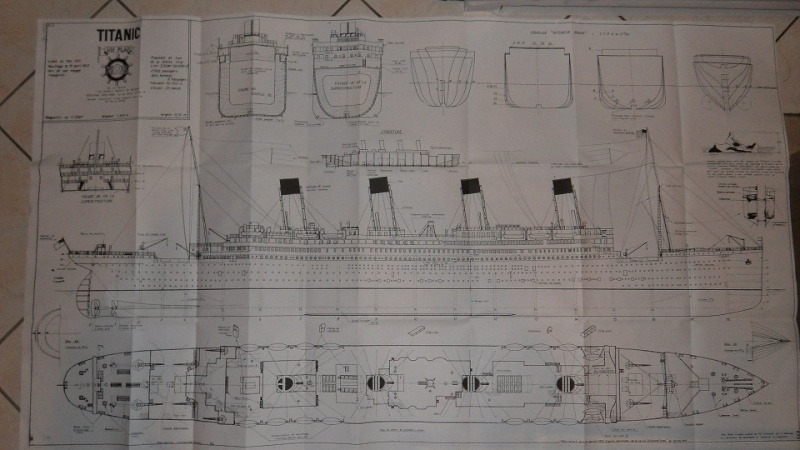 RMS Titanic 1/100  plans MRB Sam_1110