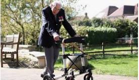 Tim Moore - 100 Runden mit dem Rollator für Corona-Patienten Tim_mo10