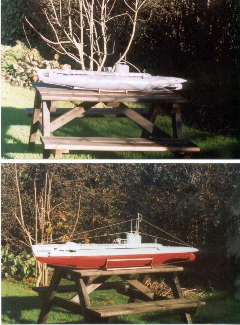 Brian Alps' HMS Umbra', the original wooden version. Now in the Sub Museum at Gosport. Um_4_b10