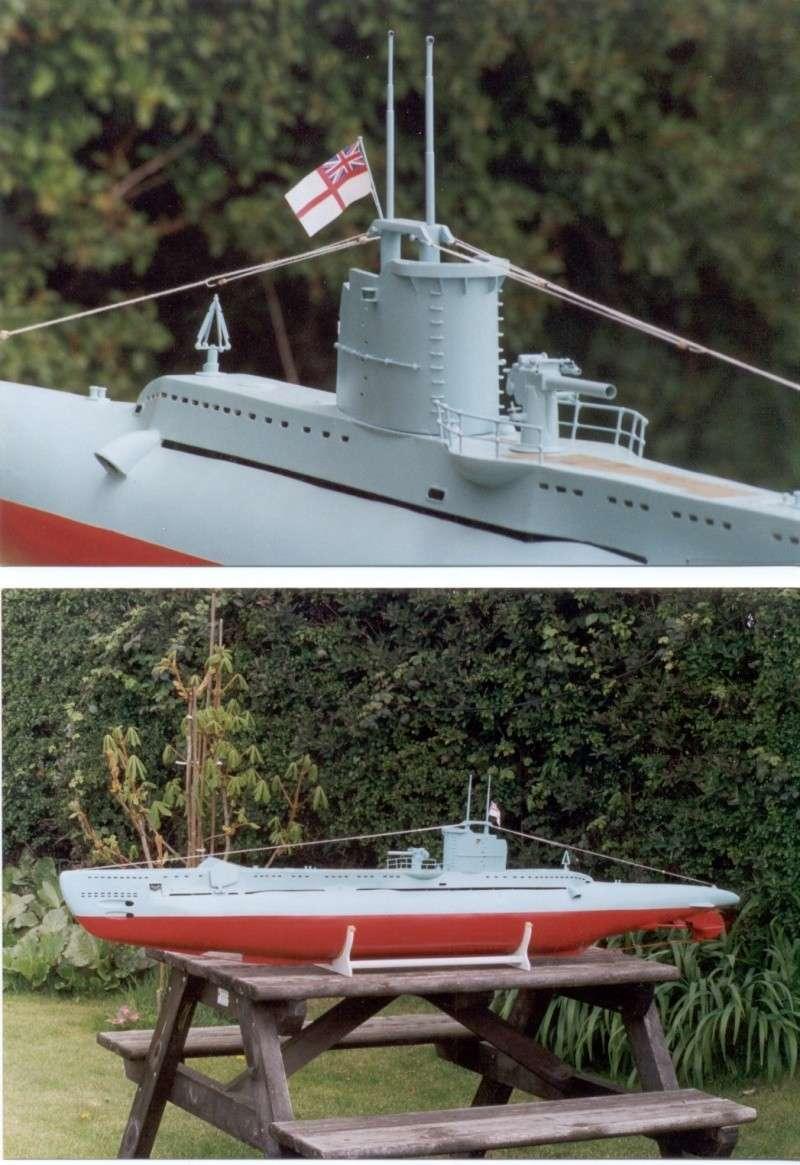 Brian Alps' HMS Umbra', the original wooden version. Now in the Sub Museum at Gosport. Umb_1_10