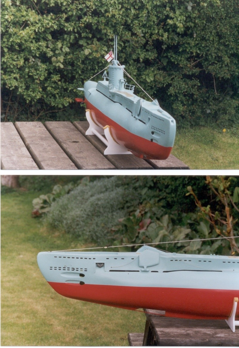 Brian Alps' HMS Umbra', the original wooden version. Now in the Sub Museum at Gosport. Umb_2_10