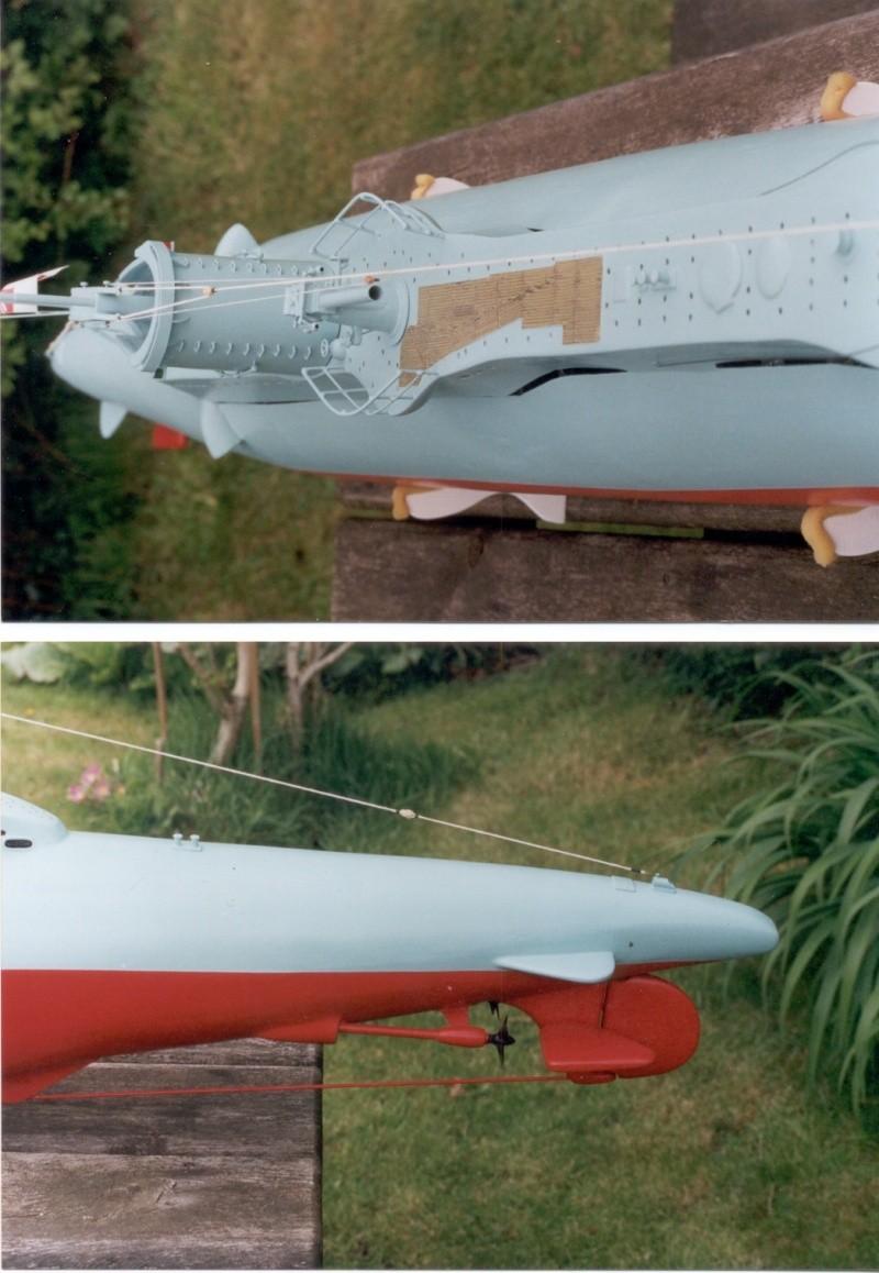 Brian Alps' HMS Umbra', the original wooden version. Now in the Sub Museum at Gosport. Umb_3_10
