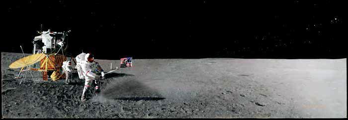 Photos rares et/ou originales, de préférence inédites sur le forum - Page 6 Apollo11