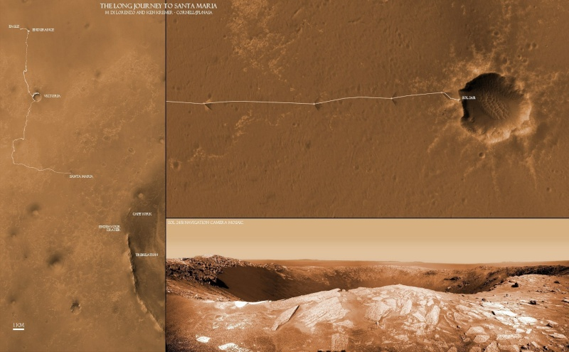 Opportunity va explorer le cratère Endeavour - Page 10 Long-j10
