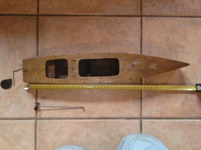 transformation d'un bateau en bois Photo016