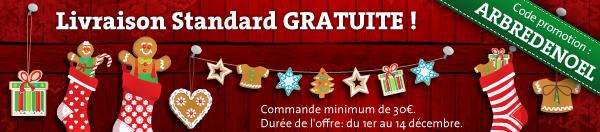 Livraison standard GRATUITE & Délais de livraison pour Noël!  Ad_dec10