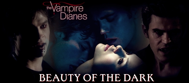 THE VAMPIRE DIARIES - BEAUTY OF THE DARK