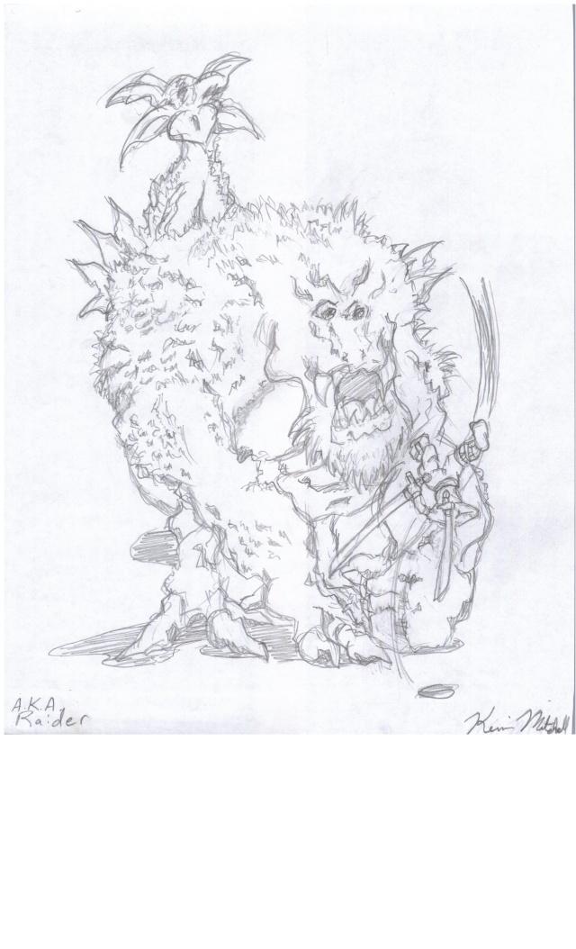 Mark57Raider's Sketches Flower10