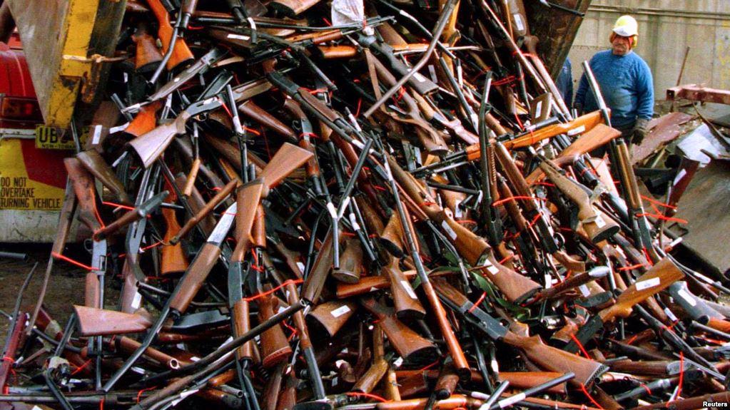 Less than 1% participate in New Zealand gun buyback 09-07-2019 Guncon10